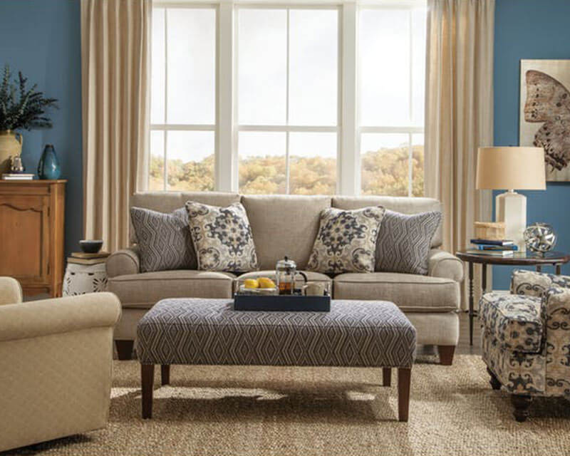 Knoxville Whole Furniture, Paula Deen Living Room